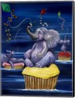 When Elephants Fly Fine-Art Print