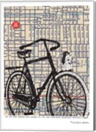 Bicycle on Hawthorne Portland Fine-Art Print