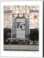 Kaufman Stadium Fine-Art Print