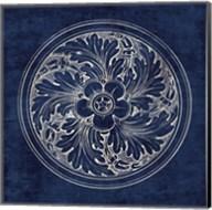 Rosette II Indigo Fine-Art Print