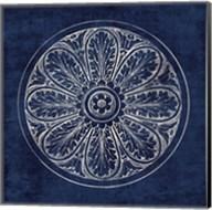 Rosette VIII Indigo Fine-Art Print