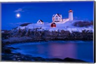 Christmas At Nubble Fine-Art Print