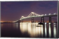 Dusk over Newport Bridge Fine-Art Print