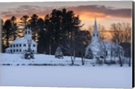Winter Sunset Fine-Art Print