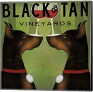 Black and Tan Vineyards Fine-Art Print