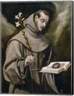 Saint Anthony of Padua, 1577-79 Fine-Art Print