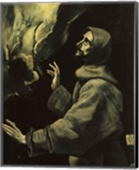 St Francis of Assisi Fine-Art Print