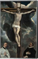 Crucifixion with Two Donors Fine-Art Print
