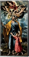 Saint Joseph and the Christ Child Fine-Art Print