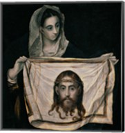 Saint Veronica with the Sudarium Fine-Art Print