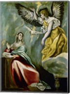 The Annunciation c. 1600 Fine-Art Print