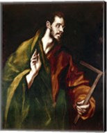 Apostle Saint Thomas, 1602-05 Fine-Art Print