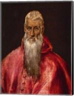 Saint Jerome as a Cardinal Fine-Art Print