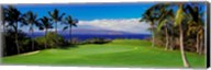 Wailea Emerald Course, Maui, Hawaii Fine-Art Print