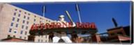 Low angle view of a baseball stadium, Autozone Park, Memphis, Tennessee, USA Fine-Art Print