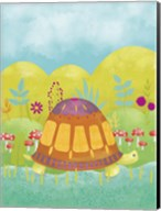 Happy Turtle I Fine-Art Print