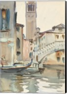 A Bridge and Campanile, Venice, 1902/04 Fine-Art Print