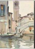 A Bridge and Campanile, Venice, 1902/04 Fine-Art Print