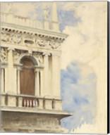 A Corner of the Library in Venice, 1904/07 Fine-Art Print