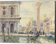 The Piazzetta, c. 1911 Fine-Art Print