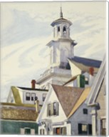 Methodist Church Tower, 1930 Fine-Art Print