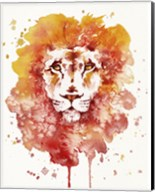 Pride (Watercolor Lion) Fine-Art Print