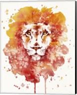 Pride (Watercolor Lion) Fine-Art Print