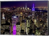 Midtown and Lower Manhattan at Night Fine-Art Print