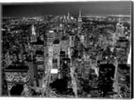 Midtown Manhattan at Night 2 Fine-Art Print