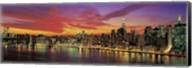 Sunset Over New York (detail) Fine-Art Print