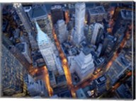 Aerial View of Wall Street Fine-Art Print