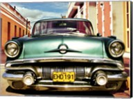Vintage American Car in Habana, Cuba Fine-Art Print