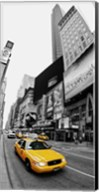 Taxi in Times Square, NYC Fine-Art Print