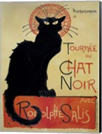 Tournee Du Chat Noir (Yellow Background) Fine-Art Print
