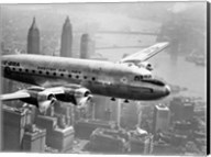Aircraft Flying over City, 1946 Fine-Art Print