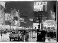 Times Square at Night, NYC, 1951 Fine-Art Print