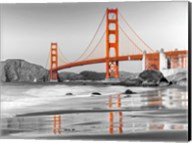 Baker Beach and Golden Gate Bridge, San Francisco 1 Fine-Art Print