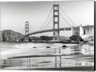 Baker Beach and Golden Gate Bridge, San Francisco 2 Fine-Art Print