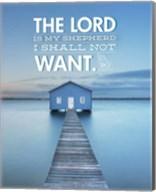 Psalm 23 The Lord is My Shepherd - Lake Fine-Art Print