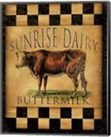 Sunrise Dairy Fine-Art Print