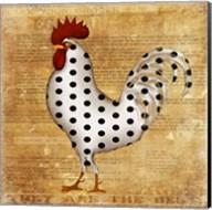Chicken Polka Dot Fine-Art Print