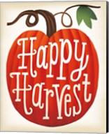 Harvest Time Happy Harvest Pumpkins Fine-Art Print