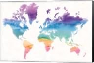 Watercolor World Fine-Art Print