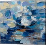 Ultramarine Waves I Fine-Art Print