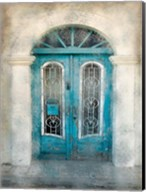 Teal Doorway Fine-Art Print