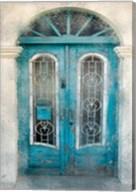 Teal Doorway Fine-Art Print