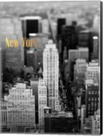 Gold NY Fifth Ave Fine-Art Print