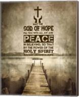 Romans 15:13 Abound in Hope (Sepia) Fine-Art Print