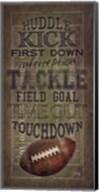 Football Talk Fine-Art Print