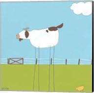 Stick-leg Goat II Fine-Art Print